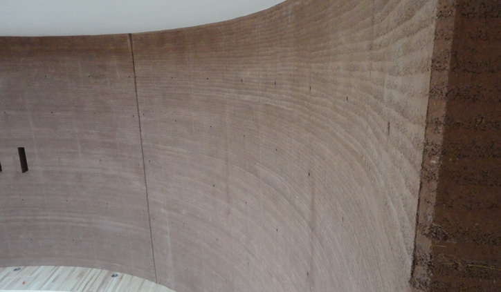 Rammed Earth Curves