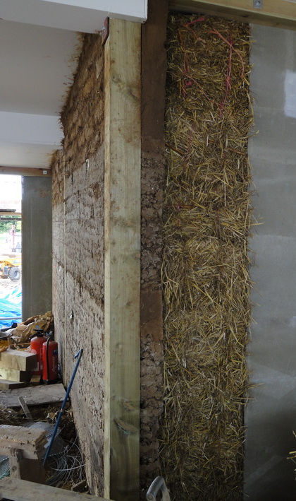 Rammed Earth And Straw Bales