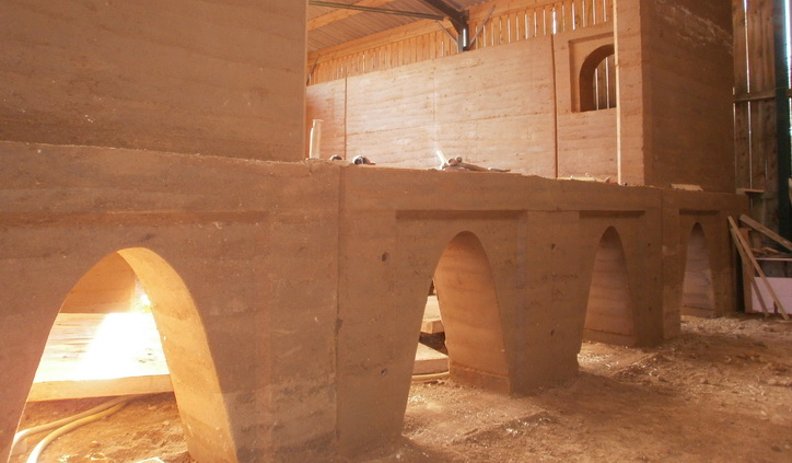 Rammed Earth Arches