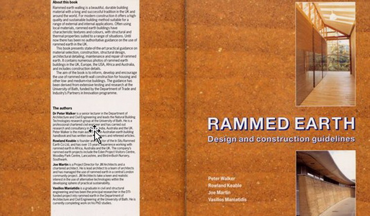 Rammed Earth Guidelines Standards And Other Resources